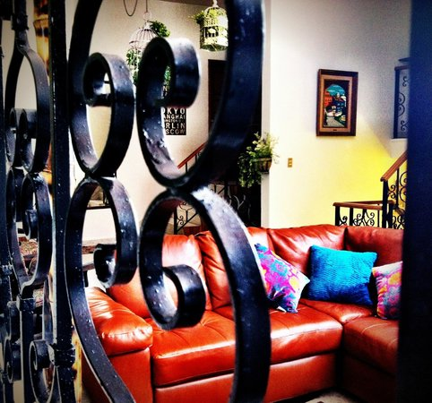 Hostal Galerie: Sala de descanso