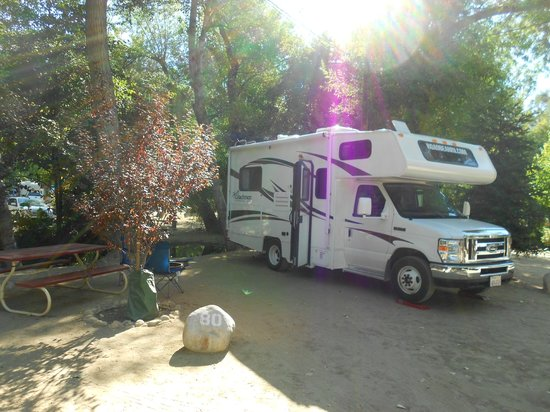 full hookup rv sites california