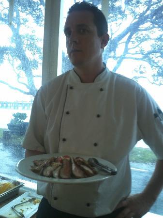 Duke of Marlborough Hotel: Dan - Wonderful Food