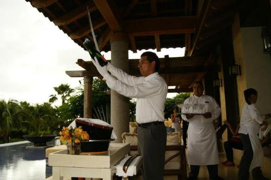 The St. Regis Punta Mita Resort: Friday Night Champagne Ritual