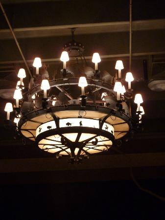 Carefree Resort: cool chandeliers