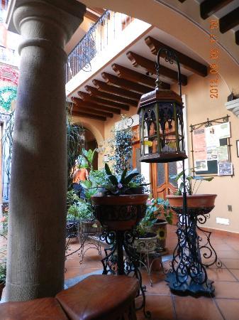Hotel Boutique Parador San Miguel Oaxaca: entrance