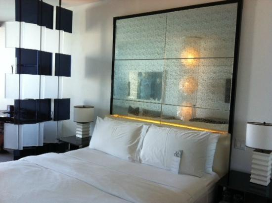 W South Beach: Bedroom