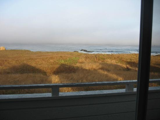 Surf and Sand Lodge: View from room 404