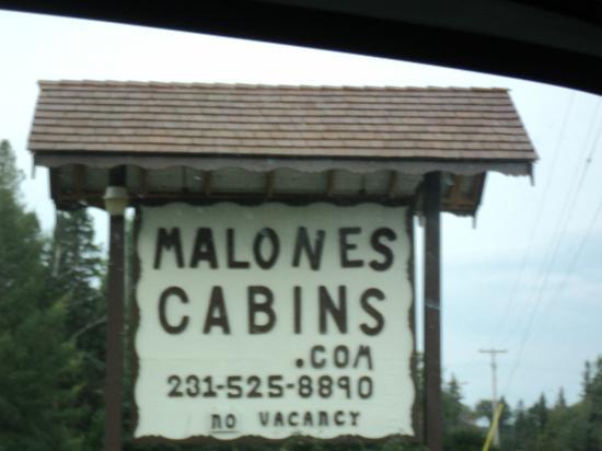Malone's Sturgeon River Cabins : A great getaway