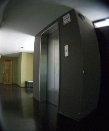 Centro 19 Hotel: Elevador