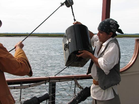 Dark Star Pirate Cruises: Pulling in the treasure chest