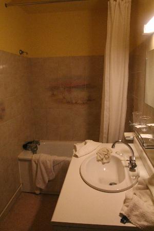 Hotel La Quebecoise Le Bas Frene : bathgroom rm 4