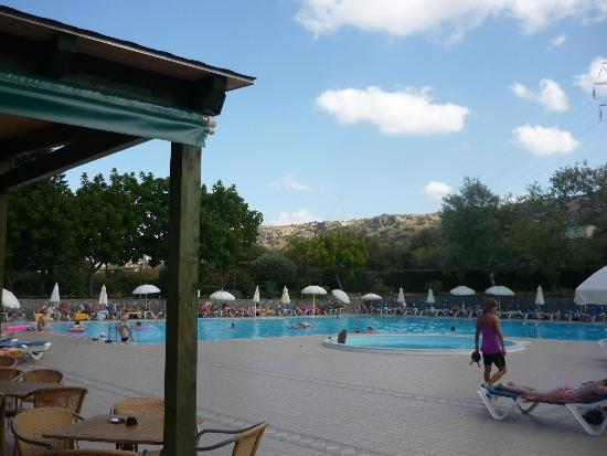 King Minos Palace Hotel : the pool