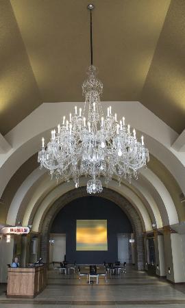 Grand Hall inside National Czech & Slovak Museum & Library
