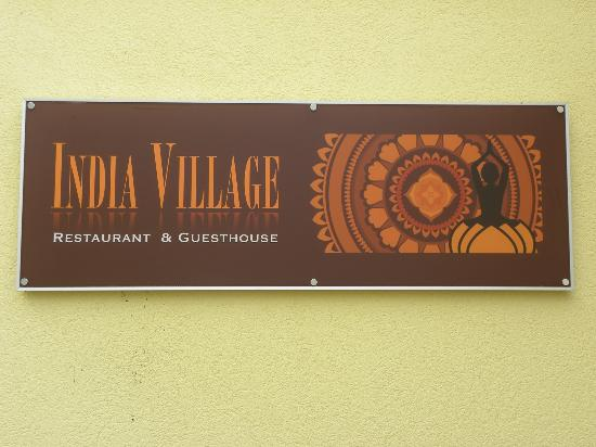 India Village Guesthouse: India Village Sign