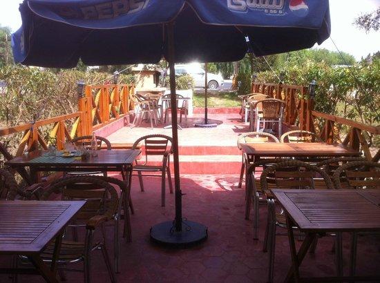 Chak Cafe Resto Grill : terazza