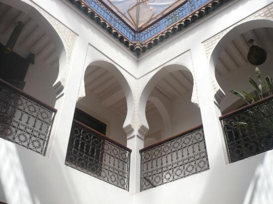 Riad Charme d'Orient: Coursive du 1er étage