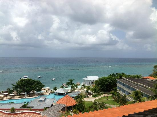 Beaches Ocho Rios Resort & Golf Club: View from Deck Prime Ministers Suite 360 degree views
