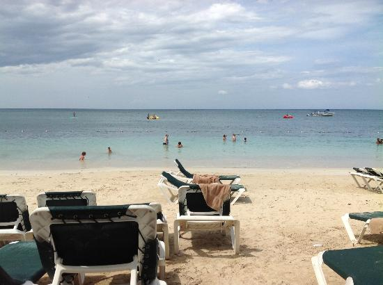 Beaches Ocho Rios Resort & Golf Club : Beach area