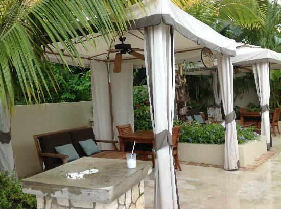 Beaches Ocho Rios Resort & Golf Club: Cabana's well worth it beaches Boscobel