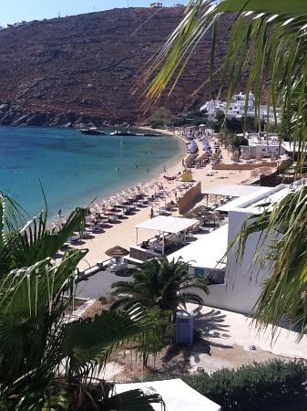 Grecotel Mykonos Blu Hotel: View from room terrace