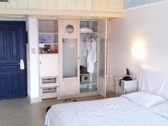 Psarou, Greece: bed room