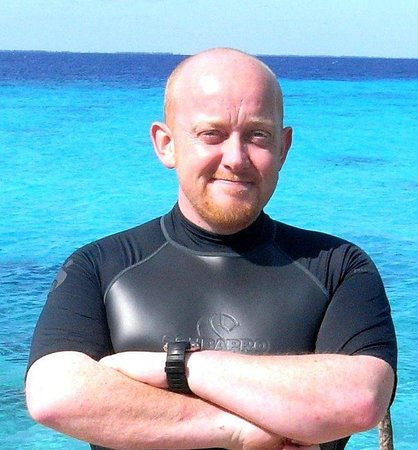 Coral Diving Club: Richard, The Owner ! :-)