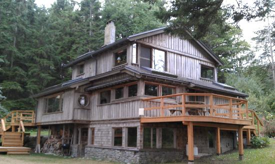 Hollyhock Lifelong Learning Centre: big house to stay in at hollyhock