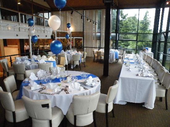 Waterside Hotel & Leisure Club: the wedding breakfast room