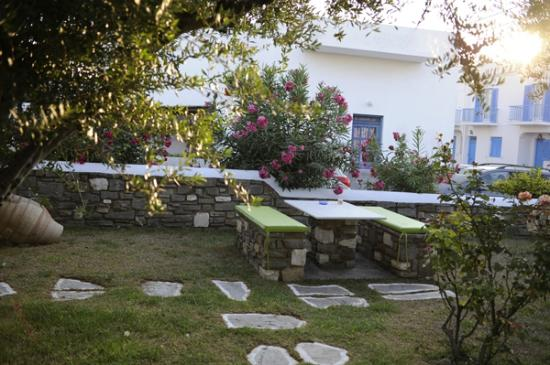 Pension Sofia: Le jardin