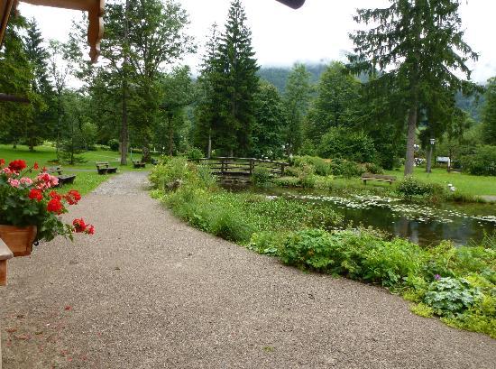 Batznhausl: The park across the street