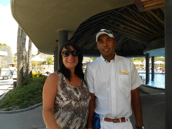 Long Beach Golf & Spa Resort: Our friend Ashish
