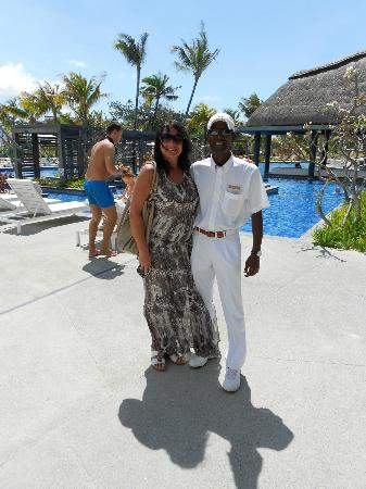Long Beach Golf & Spa Resort: Our friend Jessen