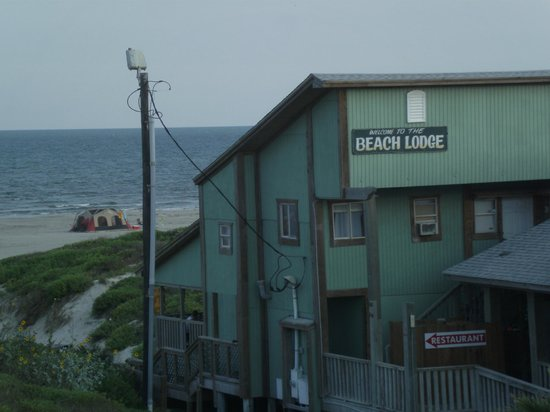 Beach Lodge Restaurant : Resturant, it is around the back left side - hotel is in the front