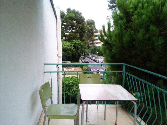 Rex Apartment Salou : La terrasse