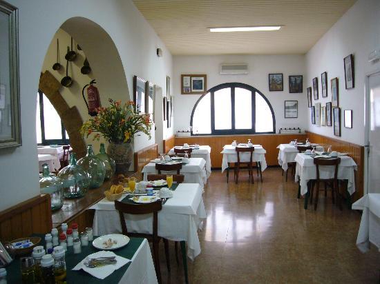 Mar Blau Tossa Hotel: otra vista del comedor