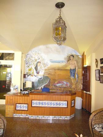Mar Blau Tossa Hotel: detalle de la recepción