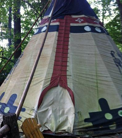 ‪‪Lake Eden Events & Lodging‬: One of the lodgings on the property, The TeePee‬