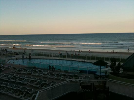 Royal Floridian Resort: View as the sun was going down!