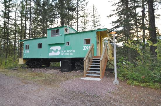 Izaak Walton Inn : Green Caboose