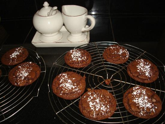 The Cornucopia Bed & Breakfast: Homemade Chocolate Mint Cookies