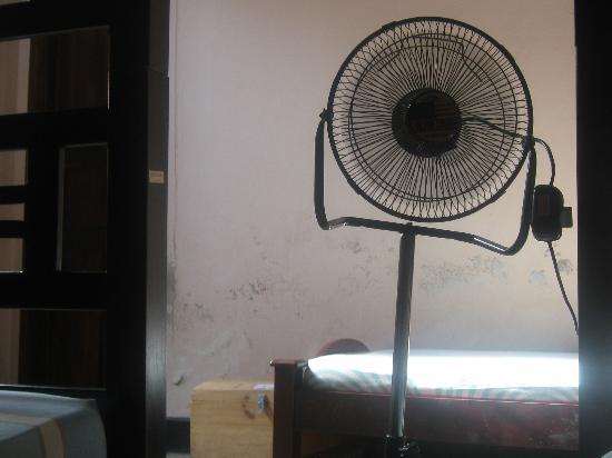 Casa Candela y Chocolate: Hay ventiladores en las habitaciones