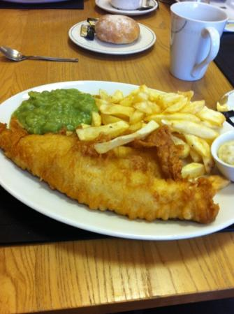 Rennards: haddock and chips