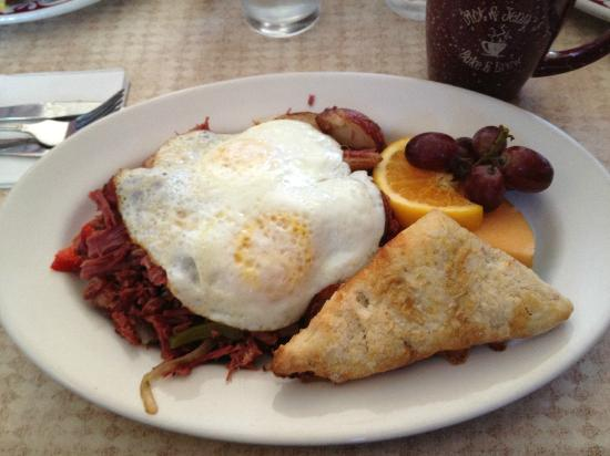 Dick and Jenny's: corned beef hash