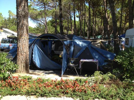 Villaggio Turistico Internazionale: la mia tenda1