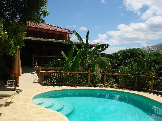 Villa Mango: The house from the pool side