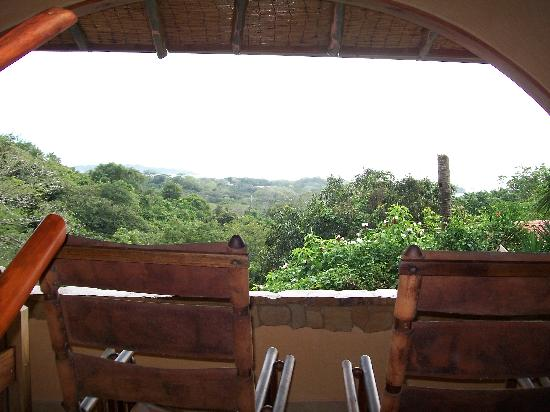 Villa Mango: View from Congo open bathroom