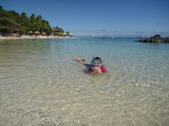 Castaway Island Fiji: North side of the island