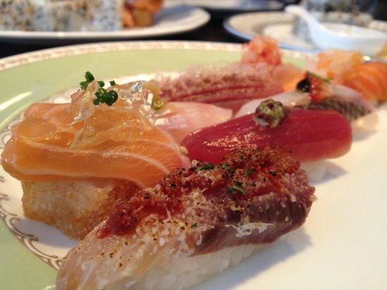 Yashin Sushi: omakase