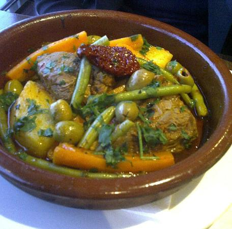 Moreno's: Lamb Tagine with veg and olives