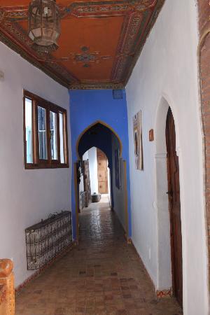 Hotel Riad Casa Hassan Restaurante: corridoio