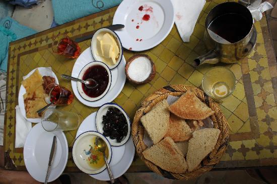 Hotel Riad Casa Hassan Restaurante: la colazione