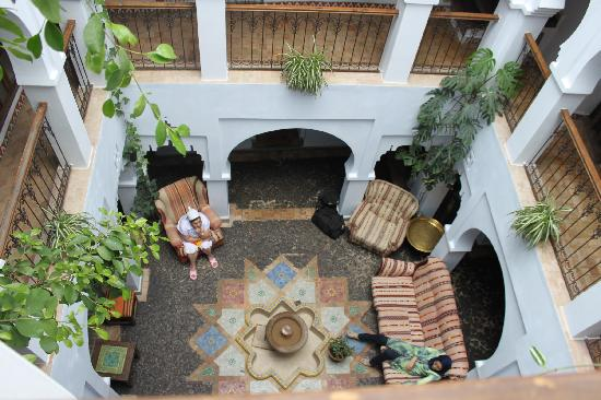 Hotel Riad Casa Hassan Restaurante: coertile