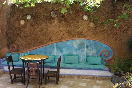 Hotel Riad Casa Hassan Restaurante: cortile dove si fa colazione